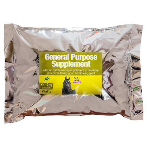 Image of General Purpose Supplement 2kg Refill  - NAF | Equine Supplements | Supplements for Horses