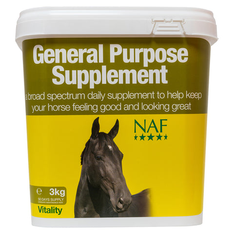 General Purpose Supplement 3kg  - NAF | Equine Supplements | Supplements for Horses