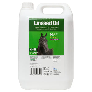 Linseed Oil 5L  - NAF | Equine Supplements | Supplements for Horses