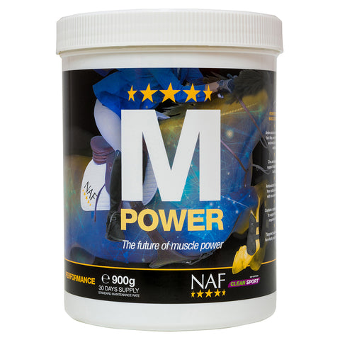 M Power 900g  - NAF | Equine Supplements | Supplements for Horses