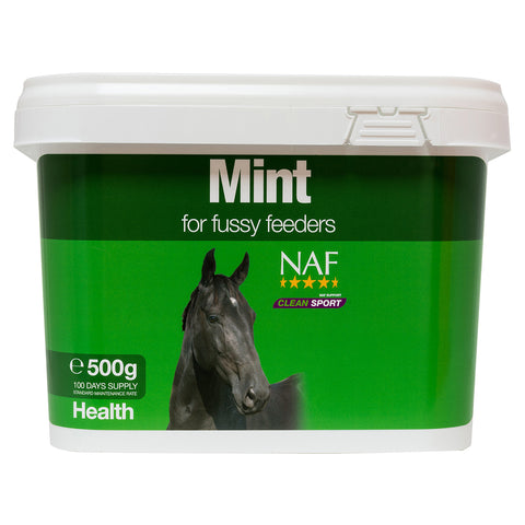 Mint 500g  - NAF | Equine Supplements | Supplements for Horses