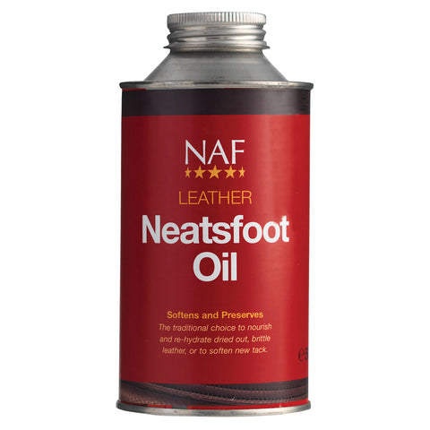 Leather Neatsfoot Oil 500ml - NAF | Equine Supplements | Supplements for Horses