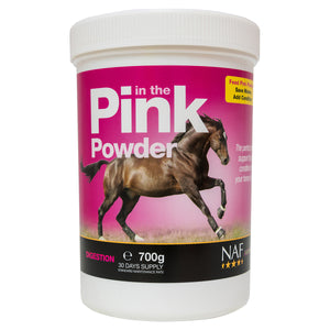 in the Pink Powder 700g - NAF | Equine Supplements | Supplements for Horses