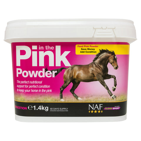 in the Pink Powder 1.4kg- NAF | Equine Supplements | Supplements for Horses