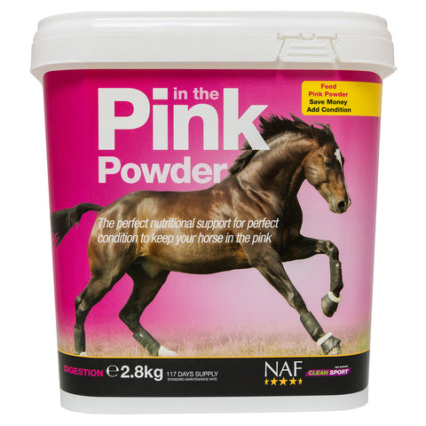 in the Pink Powder 2.8kg - NAF | Equine Supplements | Supplements for Horses