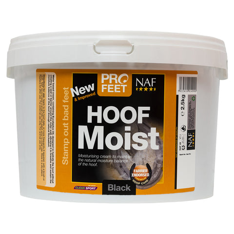 Profeet hoof moist black 2.5kg  - NAF | Equine Supplements | Supplements for Horses