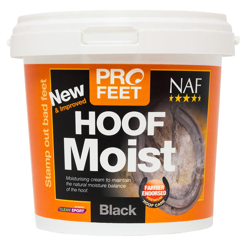 Image of Profeet hoof moist black 900g  - NAF | Equine Supplements | Supplements for Horses