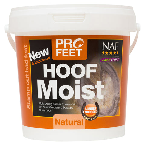 Image of Profeet hoof moist natural 900g  - NAF | Equine Supplements | Supplements for Horses