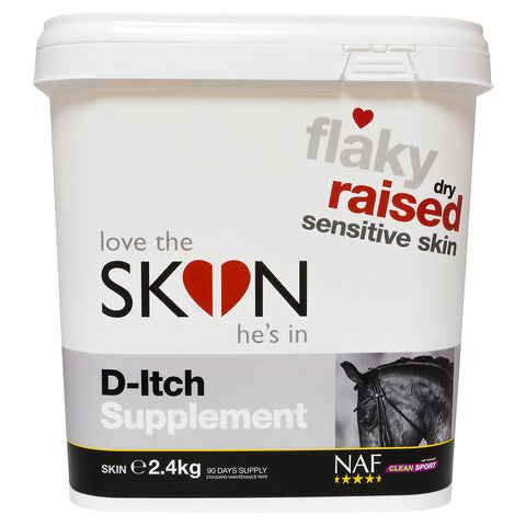 SKIN D Itch supplement 2 4kg  - NAF | Equine Supplements | Supplements for Horses