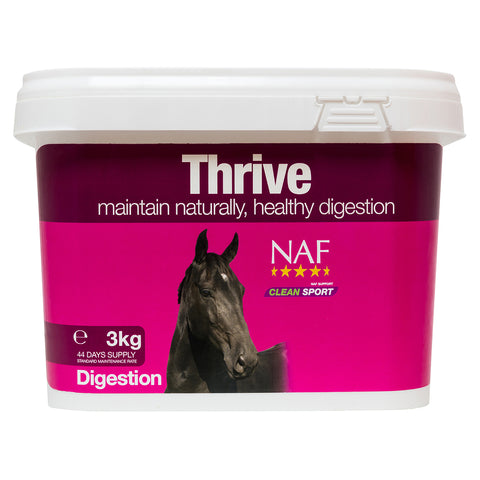Thrive 3kg  - NAF | Equine Supplements | Supplements for Horses