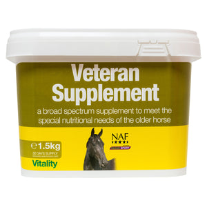 Veteran Supplement 1.5kg  - NAF | Equine Supplements | Supplements for Horses