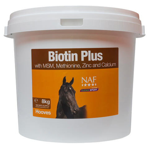 Image of biotin plus 8kg  - NAF | Equine Supplements | Supplements for Horses
