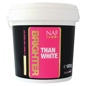 brighter than white 600g  - NAF | Equine Supplements | Supplements for Horses