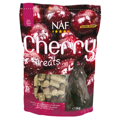 cherry treats 1kg  - NAF | Equine Supplements | Supplements for Horses
