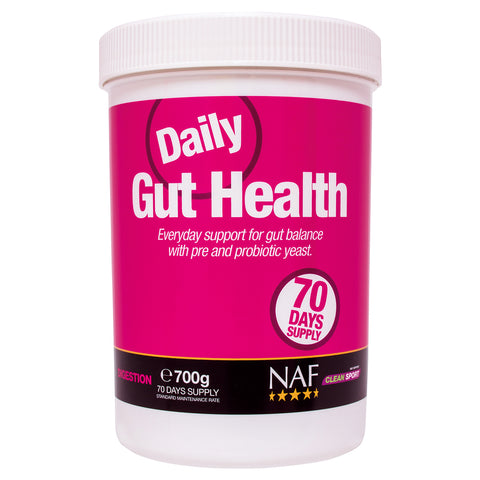 daily gut health 700g  - NAF | Equine Supplements | Supplements for Horses