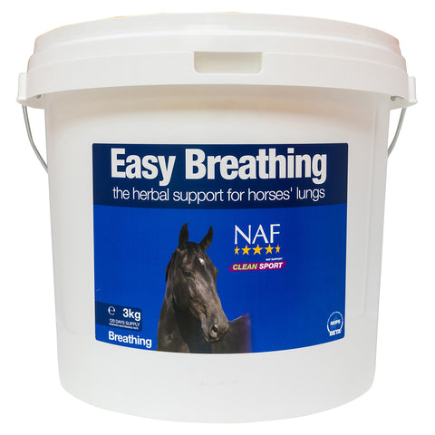 Easy Breathing 3kg - NAF | Equine Supplements | Supplements for Horses