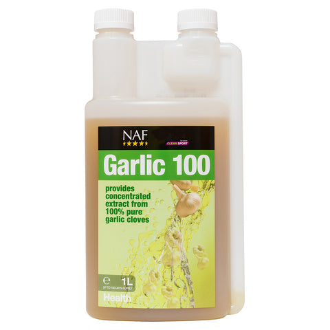 Garlic 100 1L - NAF | Equine Supplements | Supplements for Horses