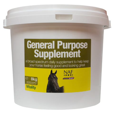 Image of general purpose supplement 8kg  - NAF | Equine Supplements | Supplements for Horses