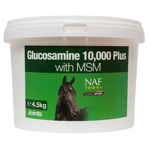 glucosamine 10000 plus 4 5kg  - NAF | Equine Supplements | Supplements for Horses