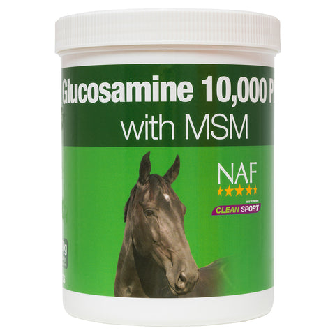 glucosamine 10000 plus 900g  - NAF | Equine Supplements | Supplements for Horses