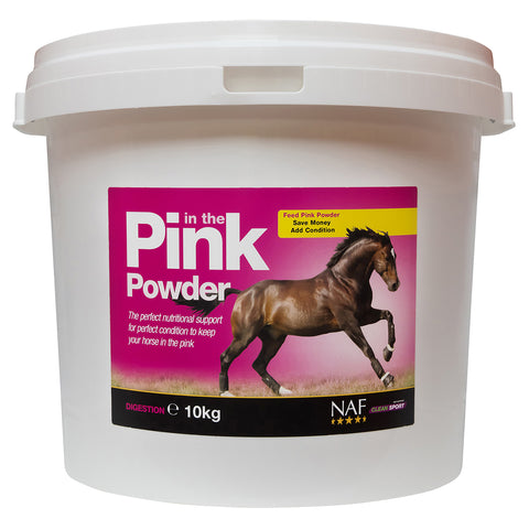 in the Pink Powder 10kg - NAF | Equine Supplements | Supplements for Horses
