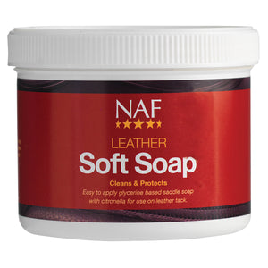 leather soft soap 450g  - NAF | Equine Supplements | Supplements for Horses