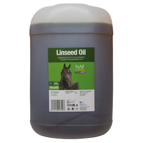Image of linseed oil 25L  - NAF | Equine Supplements | Supplements for Horses