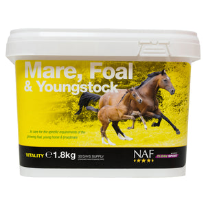 mare foal young 1.8kg  - NAF | Equine Supplements | Supplements for Horses
