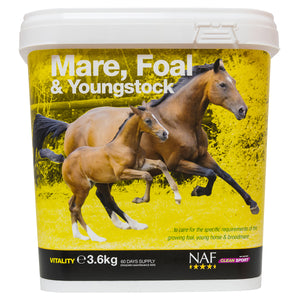 mare foal young 3.6kg  - NAF | Equine Supplements | Supplements for Horses