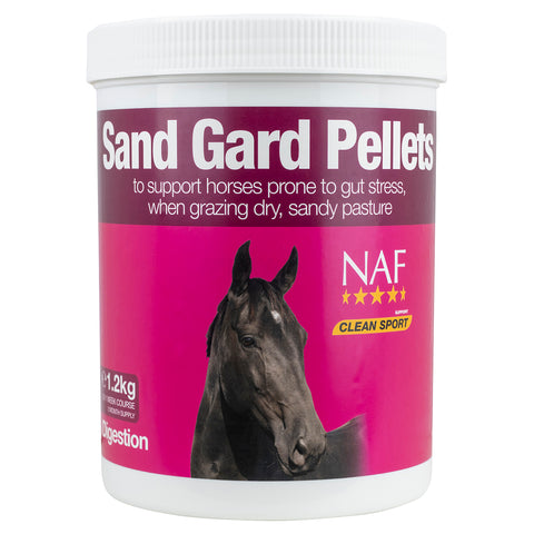 sand gard pellets 1.2kg  - NAF | Equine Supplements | Supplements for Horses