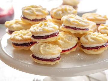 British Baking Viennese Whirls & Sandwich Cookies - Saturday October 24th (All ages welcome!)