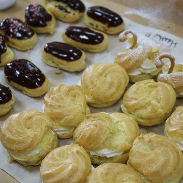 Adult Pastries: Cream Puffs, Eclairs, Swans! - Wednesday May 19th (age 12 and up)