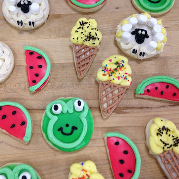 Parent/Child Edible Cookie Art - Saturday May 15th (price includes 1 parent and 1 child)