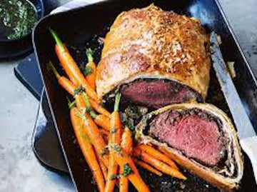 Beef Wellington Date Night - Friday June 11th (price includes 1 couple)