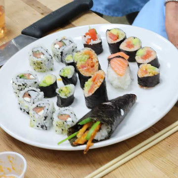 Parent/Child Sushi - Saturday June 26th (price includes 1 parent and 1 child) 9am-12pm