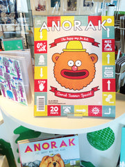 Anorak Magazine in the Snowden Flood shop