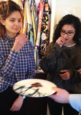 Raya and Binita test Pump Street Bakery Chocolate at Snowden Flood Studio