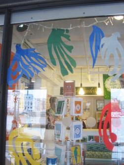 Matisse cut out inspired windows!