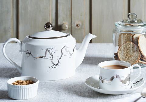Thames Tea set - Snowden Flood Oxo Studio Shop - Number 5 of our 5 top wedding gift ideas.  www.snowdenflood.com