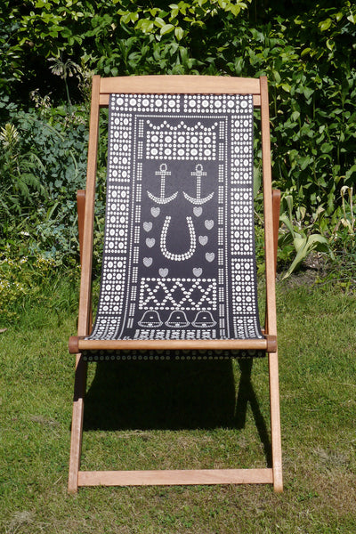 Pearlie Kings and Queens Deck Chair www.snowdenflood.com