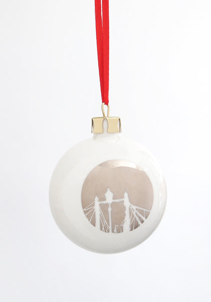 Albert Bridge Bone China London Landmark bauble