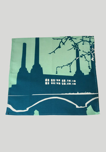 Battersea Power Station Napkin Snowden Flood www.snowdenflood.com