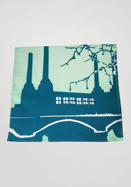 Battersea Power Station Napkin - Snowden Flood Shop - www.snowdenflood.com