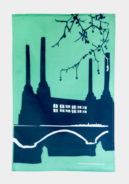 Battersea Power Station Tea Towel - Snowden Flood Shop - www.snowdenflood.com