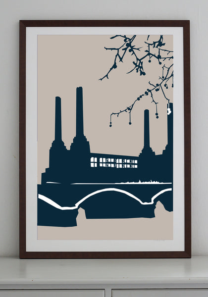 Battersea Power Station Art Print - various sizes