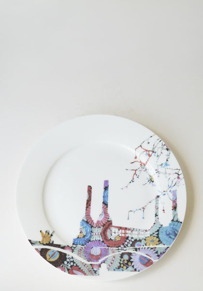 www.snowdenflood.com Battersea Embroidery side plate