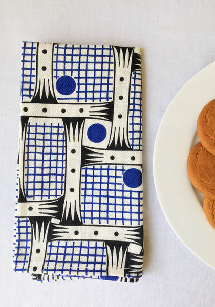 A Set of 4 'Bessie' linen Napkins
