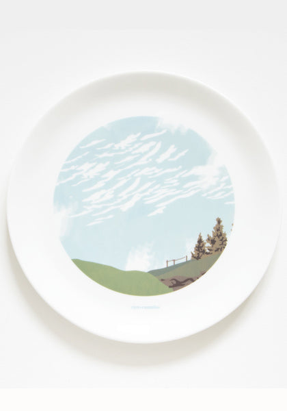 Cirro Cumulus Clouds Dinner Plate