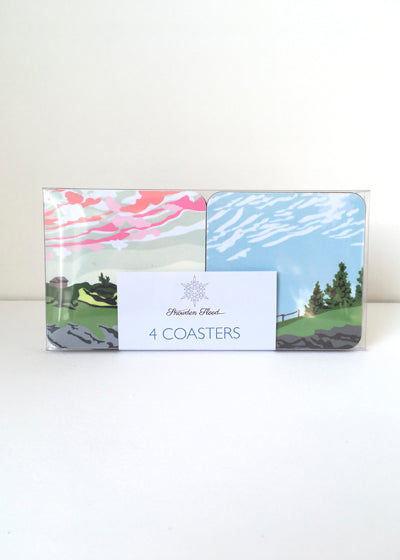 Snowdenflood.com rural landscape cloudspotters coasters