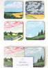 Snowden Flood Cloud Coasters www.snowdenflood.com